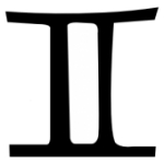 Signe astrologique Gemeaux